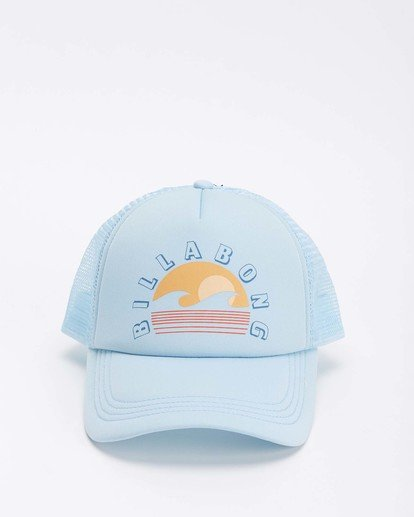 1 Across Waves Trucker Hat Blue JAHWQBAC Billabong