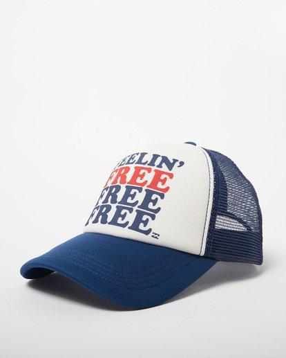 0 Across Waves Trucker Hat Blue JAHWQBAC Billabong