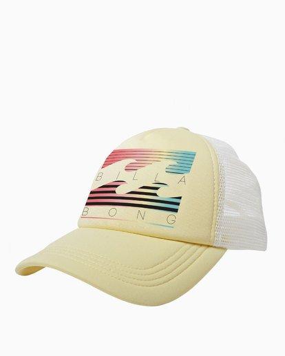 0 Across Waves Trucker Hat Yellow JAHWQBAC Billabong