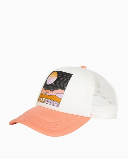 0 Across Waves Trucker Hat Orange JAHWQBAC Billabong