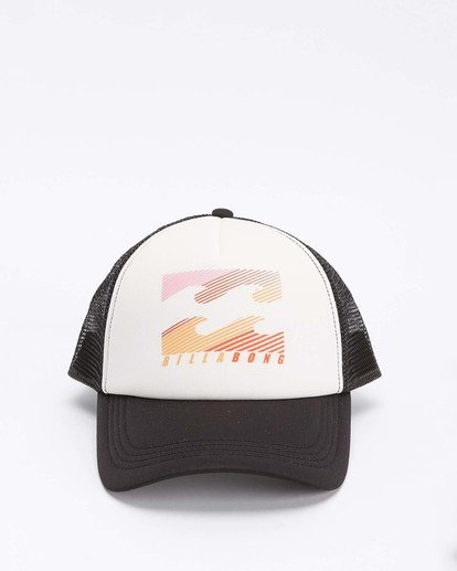 1 Across Waves Trucker Hat White JAHWQBAC Billabong
