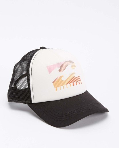 2 Across Waves Trucker Hat White JAHWQBAC Billabong