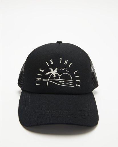 1 Aloha Forever Trucker Hat Black JAHWQBAL Billabong