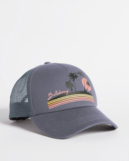 2 Aloha Forever Trucker Hat Blue JAHWQBAL Billabong