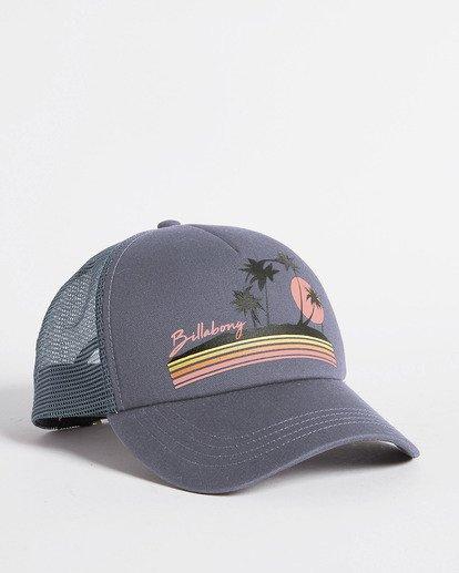 2 Aloha Forever Trucker Hat Blue JAHWQBAL Billabong