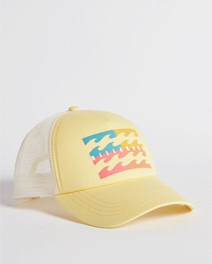 3 Aloha Forever Trucker Hat Grey JAHWQBAL Billabong