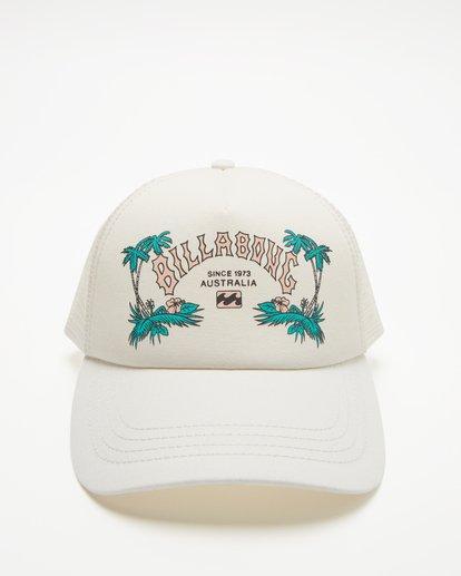 2 Aloha Forever Trucker Hat White JAHWQBAL Billabong