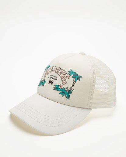 1 Aloha Forever Trucker Hat White JAHWQBAL Billabong