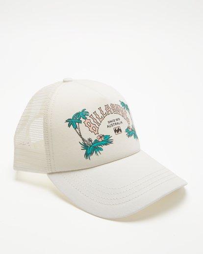 3 Aloha Forever Trucker Hat White JAHWQBAL Billabong