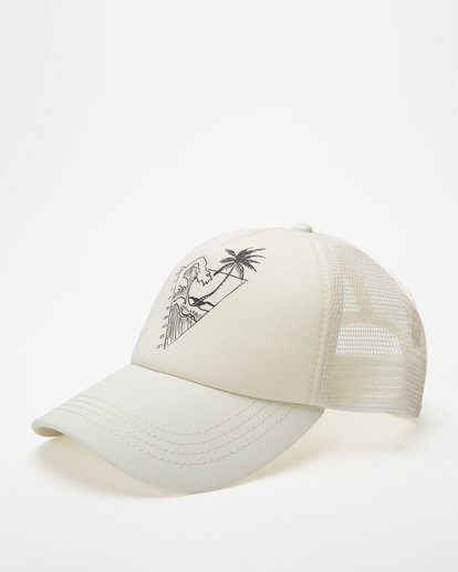 0 Aloha Forever Trucker Hat White JAHWQBAL Billabong