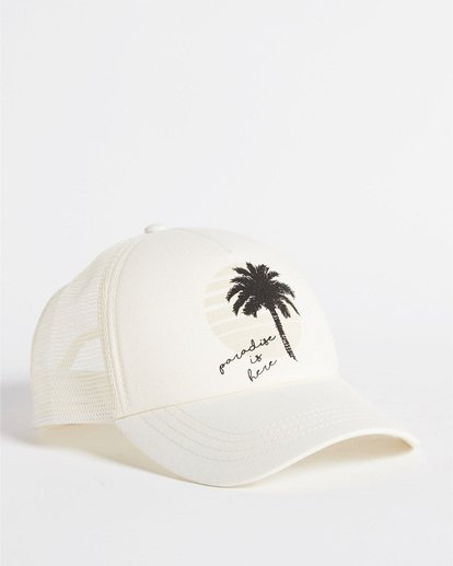 2 Aloha Forever Trucker Hat White JAHWQBAL Billabong