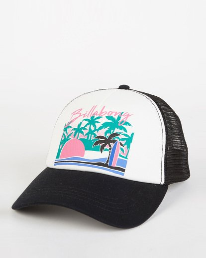 0 Aloha Forever Trucker Hat Black JAHWQBAL Billabong