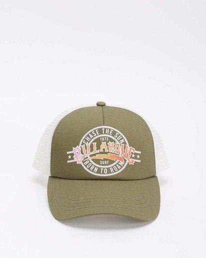 2 Aloha Forever Trucker Hat Green JAHWQBAL Billabong