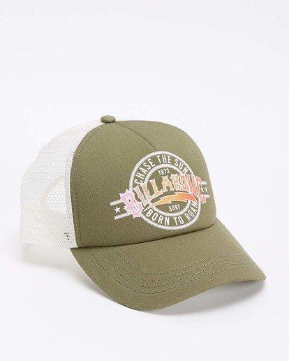3 Aloha Forever Trucker Hat Green JAHWQBAL Billabong