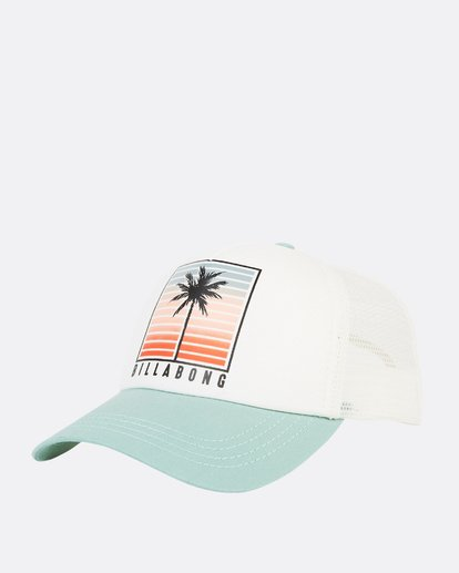 0 Aloha Forever Trucker Hat Blue JAHWQBAL Billabong