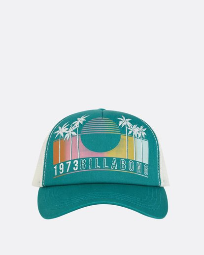 1 Aloha Forever Trucker Hat Blue JAHWQBAL Billabong