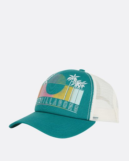 0 Aloha Forever Trucker Hat Blue JAHWQBAL Billabong
