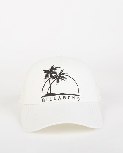1 Aloha Forever Trucker Hat White JAHWQBAL Billabong