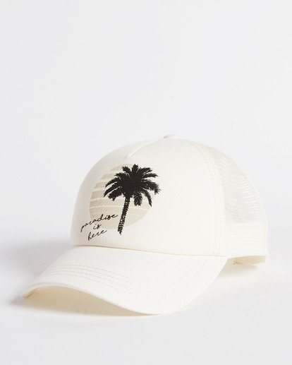 3 Aloha Forever Trucker Hat White JAHWQBAL Billabong