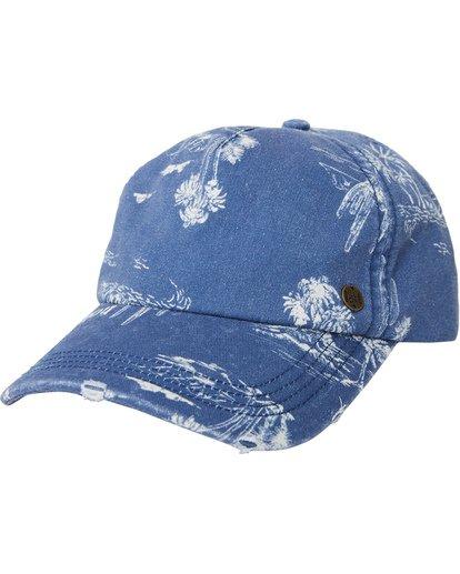 3 Beach Club Baseball Cap Blue JAHWQBBE Billabong