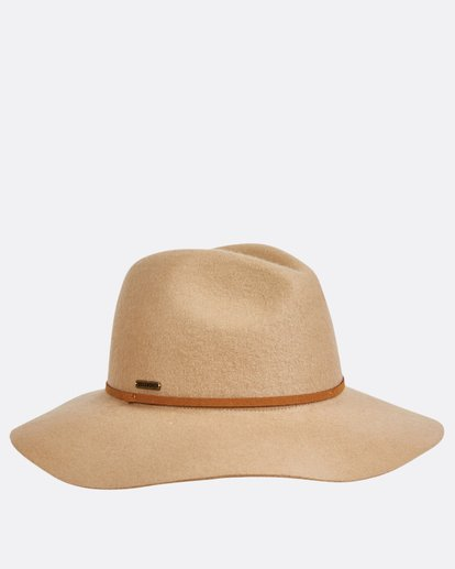 4 No Worries Felt Hat Beige JAHWQBNO Billabong