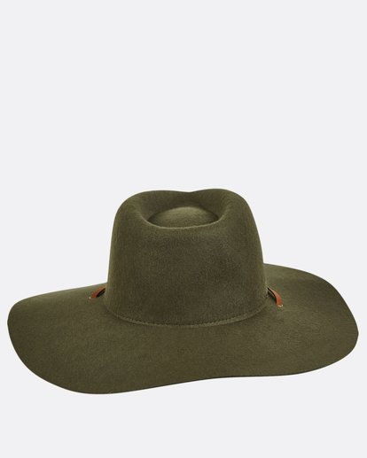 6 On The Rocks Felt Hat  JAHWQBON Billabong