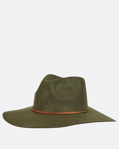 5 On The Rocks Felt Hat  JAHWQBON Billabong