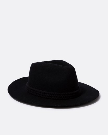 2 Roped In Felt Hat  JAHWSBRO Billabong