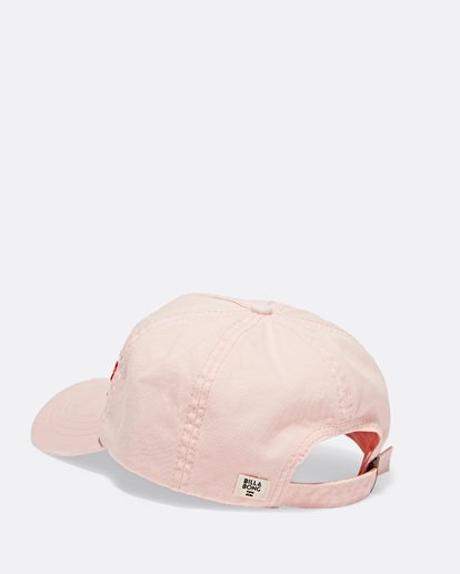 2 Surf Local Canvas Hat Pink JAHWTBSU Billabong