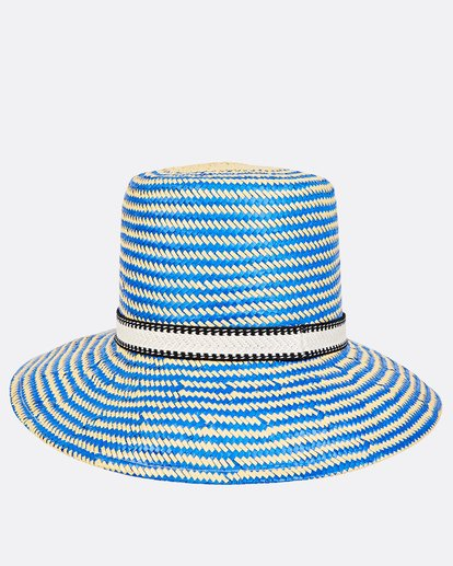4 Now Or Never Straw Hat Blue JAHWUBNO Billabong