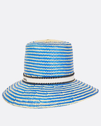 2 Now Or Never Straw Hat Blue JAHWUBNO Billabong
