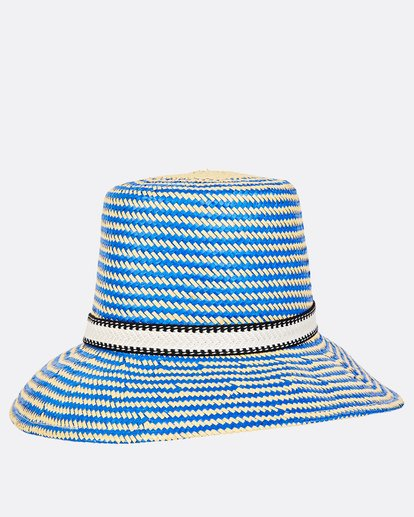 1 Now Or Never Straw Hat Blue JAHWUBNO Billabong