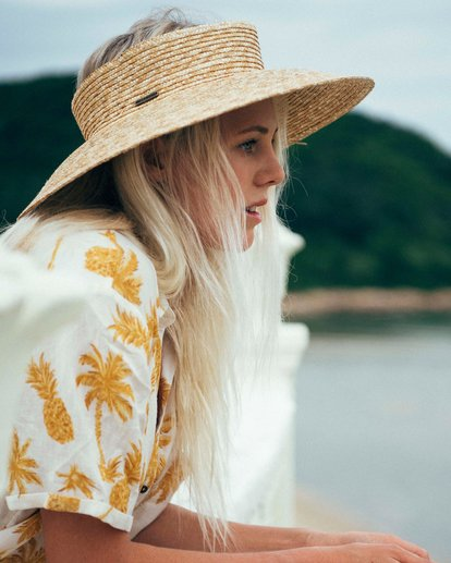 0 Sea More Straw Hat Yellow JAHWUBSE Billabong
