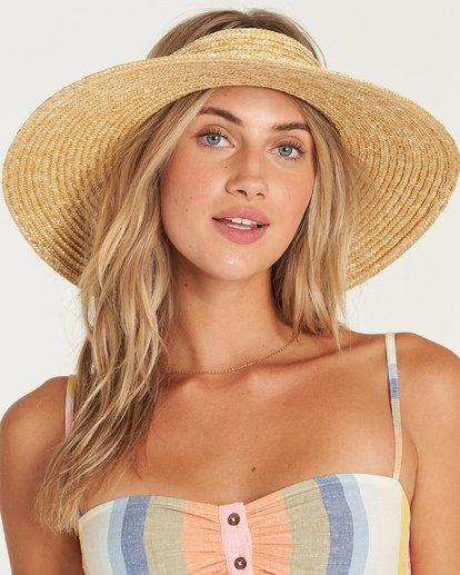 1 Sea More Straw Hat Yellow JAHWUBSE Billabong