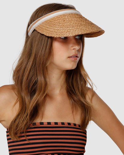 0 Sunrise Visor Brown JAHWVBSU Billabong