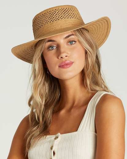 0 Wandering Daze Straw Hat Yellow JAHWVBWA Billabong