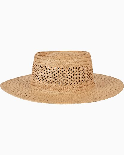 4 Wandering Daze Straw Hat Yellow JAHWVBWA Billabong
