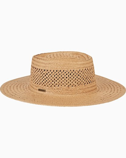 3 Wandering Daze Straw Hat Yellow JAHWVBWA Billabong