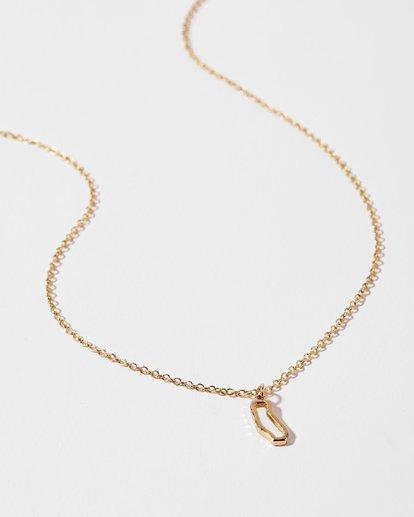 1 California Golden Necklace  JAJWXBCA Billabong