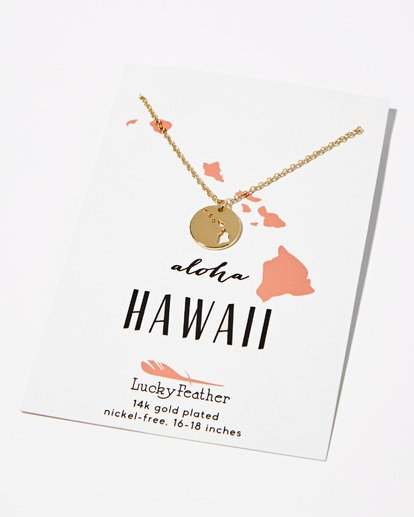 1 Hawaii Aloha Necklace  JAJWXHAW Billabong