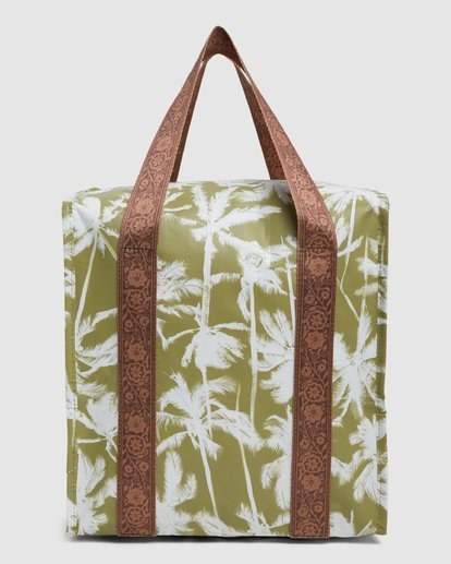 4 Kollab Pretty Palms Cooler Green JAMCWBPC Billabong