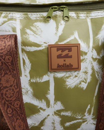 6 Kollab Pretty Palms Cooler Green JAMCWBPC Billabong