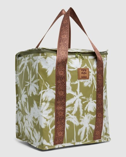 2 Kollab Pretty Palms Cooler Green JAMCWBPC Billabong