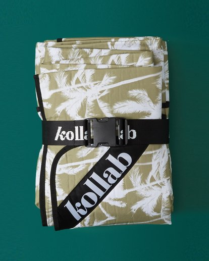 1 Kollab Pretty Palms Mat Green JAMCWBPM Billabong