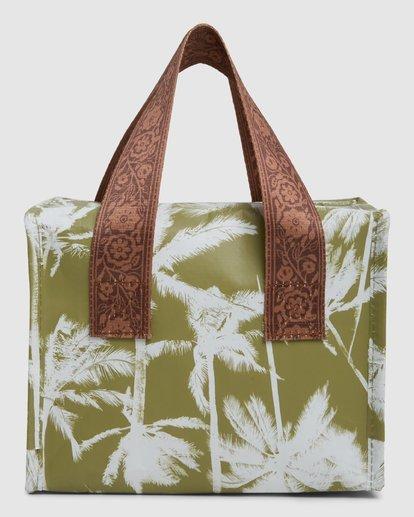 3 Kollab Pretty Palms Lunch Box Green JAMCWBPP Billabong