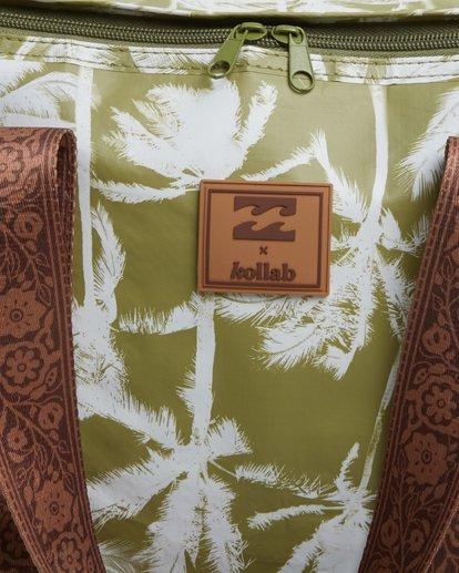 5 Kollab Pretty Palms Lunch Box Green JAMCWBPP Billabong