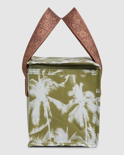 2 Kollab Pretty Palms Lunch Box Green JAMCWBPP Billabong