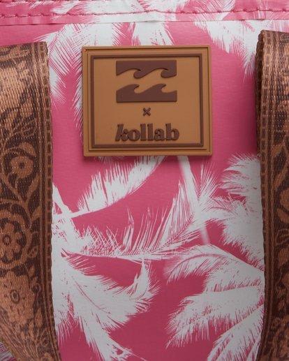 6 Kollab Pretty Palms Lunch Box Pink JAMCWBPP Billabong