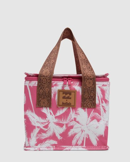 2 Kollab Pretty Palms Lunch Box Pink JAMCWBPP Billabong