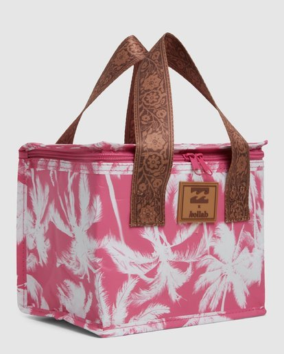 4 Kollab Pretty Palms Lunch Box Pink JAMCWBPP Billabong